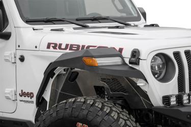 Addictive Desert Designs 2018 Jeep Wrangler JL Hammer Black Rock Fighter Front Fenders