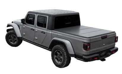 Access LOMAX Tri-Fold Cover 2020 Jeep Gladiator 5ft Box (w/ Trail Rail) Black Matte