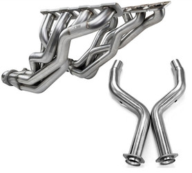"""Kooks Stainless Steel 1-7/8"""" Longtube Headers w/Off-Road Catless Mid Pipes (2009+ 5.7L 300, Charger, Challenger) - 3100H410"""