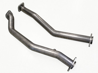 Stainless Works Track Legal Mid Pipes for 18-Current Jeep Grand Cherokee TrackHawk & Durango SRT Hellcat 6.2L