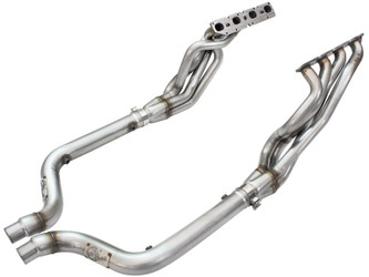 aFe Twisted Steel Long Tube Headers & Connection Pipes 09-15 Dodge Charger R/T V8-5.7L Hemi