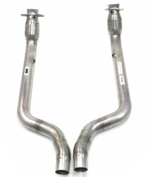 *****DISCONTINUED*** JBA High Flow Catalytic Converter Direct Replacement System (2015+ 6.2L/6.4L Charger, Challenger Hellcat/392) - 2968SDC