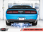AWE Touring Edition Exhaust for 15+ Challenger 6.4 / 6.2 SC - Resonated - Diamond Black Quad Tips - 3015-43146
