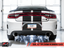 AWE Touring Edition Exhaust Non Resonated Diamond Black Tips for 15-Current Charger 6.2/6.4L - 3020-33070