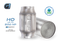 G-Sport 300 CPSI EPA Approved 3in Inlet/Outlet x 4in Dia Body x 7in OAL Catalytic Converter