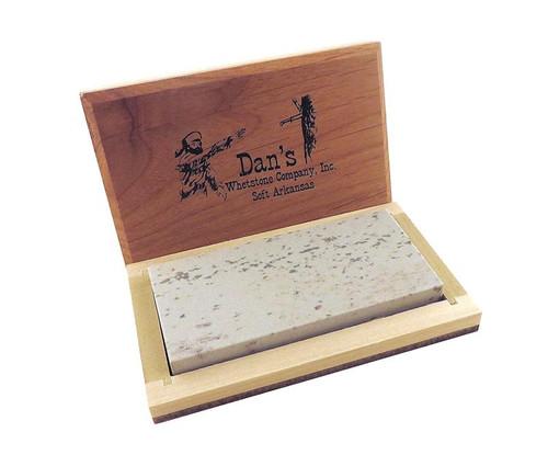 """Dan's 4"""" Medium Soft Arkansas Bench Stone MAB-42-C"""