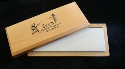 "Dan's 4"" Hard Arkansas Bench Stone FAB-42-C"
