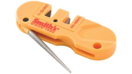 Smith's PP1 Pocket Pal Knife Sharpener-Orange Color