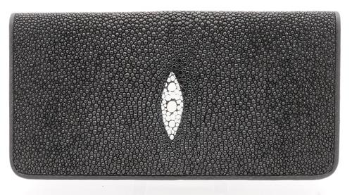 Stingray Small Checkbook Cover