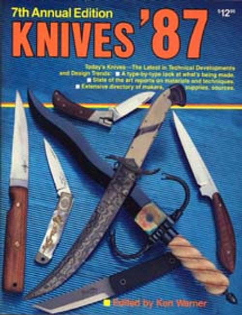 World's Greatest Knife Book Annual Knives 1987 By Ken Warner