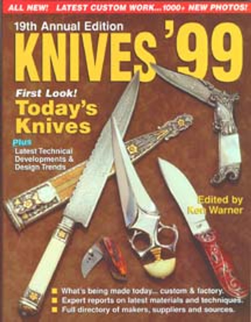 World's Greatest Knife Book Annual Knives 1999 By Ken Warner