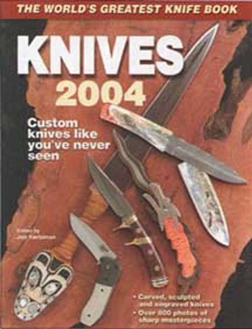 World's Greatest Knife Book Annual Knives 2004 By Ken Warner