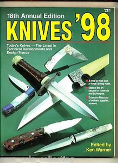 World's Greatest Knife Book Annual Knives 1998 By Ken Warner