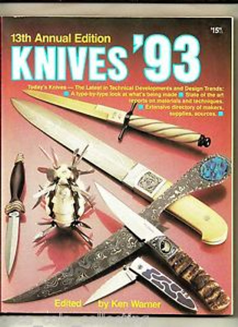 World's Greatest Knife Book Annual Knives 1993 By Ken Warner