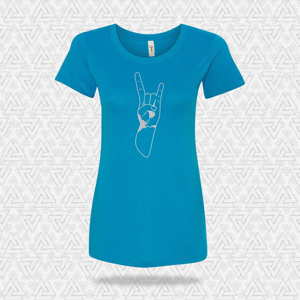 Viking Women's Devil's Horn T-Shirt