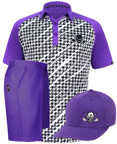 Houndstooth Men s Golf Shirt 9291454b1bb1
