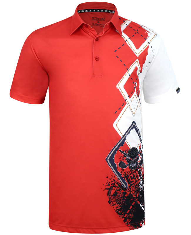 7b590f13fb The new Player golf polo, combining a classic argyle design, some wild  graphics,