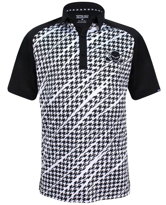 0ce6bd92 The new Houndstooth golf polo, combining a classic design, some wild  graphics, and