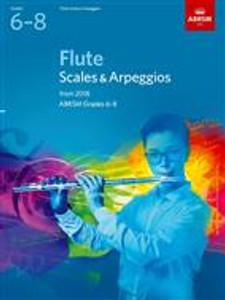 ABRSM Flute Scales 6-8