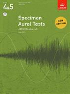 ABRSM Aural Tests Grade 4-5 with CD