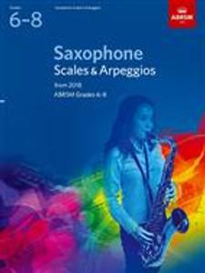 ABRSM Saxophone Scales 6-8