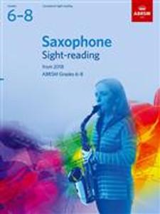 ABRSM Saxophone Sight Reading 6-8