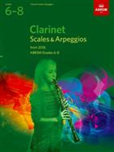 ABRSM Clarinet Scales 6-8
