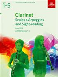 ABRSM Clarinet Scales & Sight reading 1-5