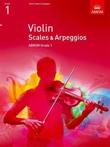 ABRSM: VIOLIN SCALES & ARPEGGIOS Grades 1-8