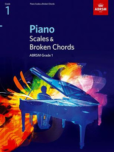 ABRSM: PIANO SCALES & BROKEN CHORDS Grades 1-8