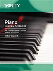 Trinity Piano Scales Initial to Grade 5