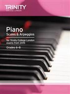 Trinity Piano Scales grades 6-8
