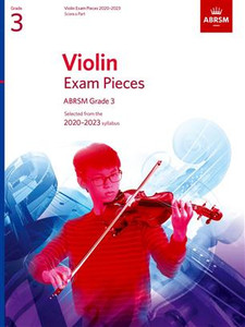 ABRSM Violin Score & Part Grades 1-8