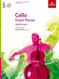 ABRSM Cello Score Part & CD Grades 1-5
