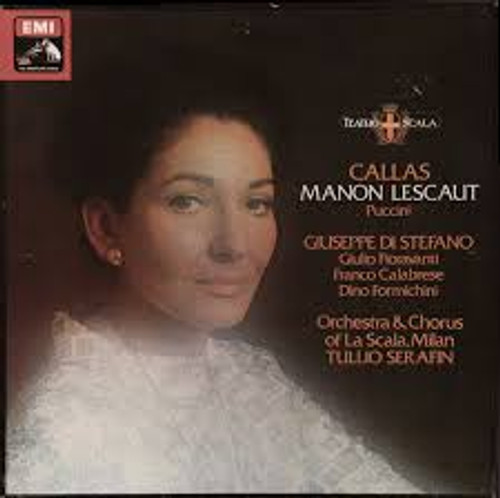 Puccini Manon Lescaut Callas Vinyl