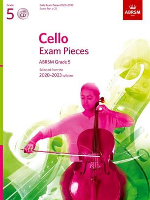 ABRSM Cello Score Part & CD Grades 1-5