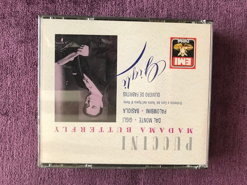 Puccini madame Butterfly Gigli