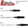 L-Style L-Shaft Carbon Slim Silent Dart Shafts - White - 300
