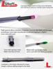 L-Style L-Shaft Straight Silent Black Dart Shafts - 260