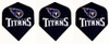 Dart flights with Tennessee Titans football logo