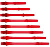 Fit Shaft Gear Slim Spinning Red