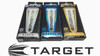 Target Pixel Grip Dart Shafts - Medium Chrome