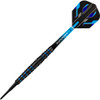 Harrows Spina 90% Soft Tip Darts - Black & Blue 18gm