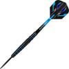 Harrows Spina 90% Steel Tip Darts - Black & Blue 24gm