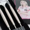 Dynasty A-Flow BL Fallon 3 Pink & Gold Steel TIp Darts - 24.3g