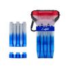 L-Style Krystal One Dart Case Natural Nine Tri Color Blue Hawaii