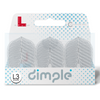 L-Style  L3d Dimpled Champagne Flights -NEW COLOR Clear