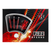 Harrows FIRE INFERNO 24g 90% tungsten -  Steel Tip Darts