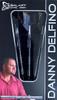 """Galaxy Barrels Danny """"Del"""" Delfino 22g Steel Tip Darts 90% - Black"""