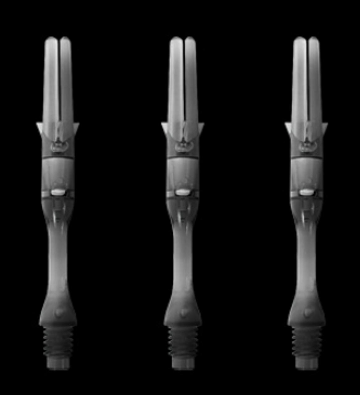 L-Style L-Shaft Carbon Silent Spinning Slim Dart Shafts 300 Clear 30mm